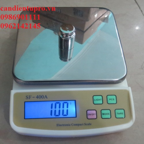 Cân điện tử nhà bếp SF 400 A (5kg/1g)