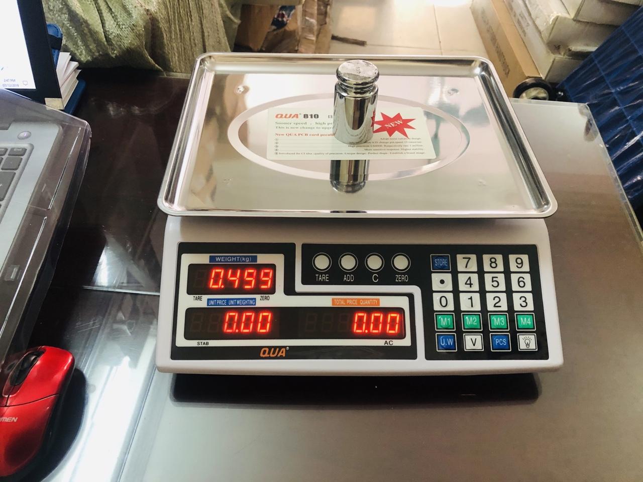 Cân điện tử tính giá QUA 810