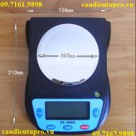 CÂN ĐIỆN TỬ NHÀ BẾP SF 400 D (3KG/0,1G)