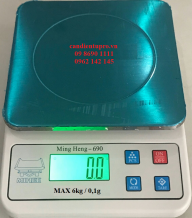 Cân điện tử nhà bếp Ming Heng 6kg/0,1g